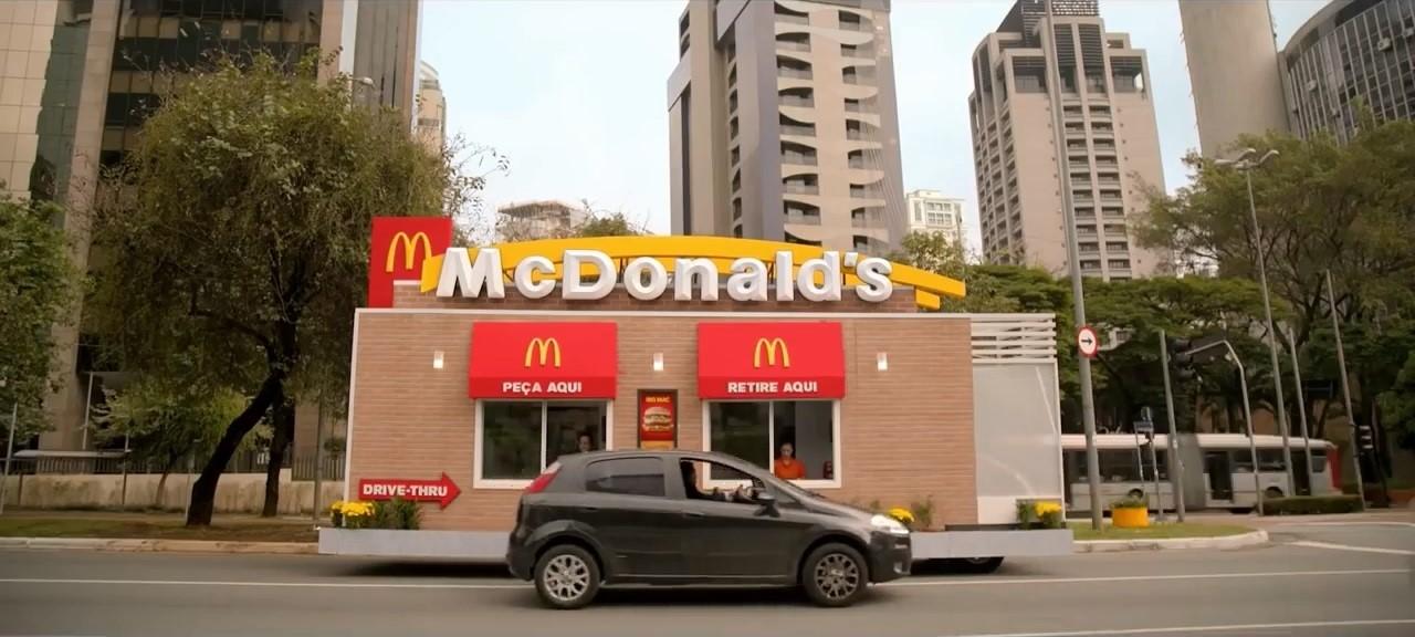 Aracınızla McDonald's'a gitmek yerine McDonald's aracınıza gelirse