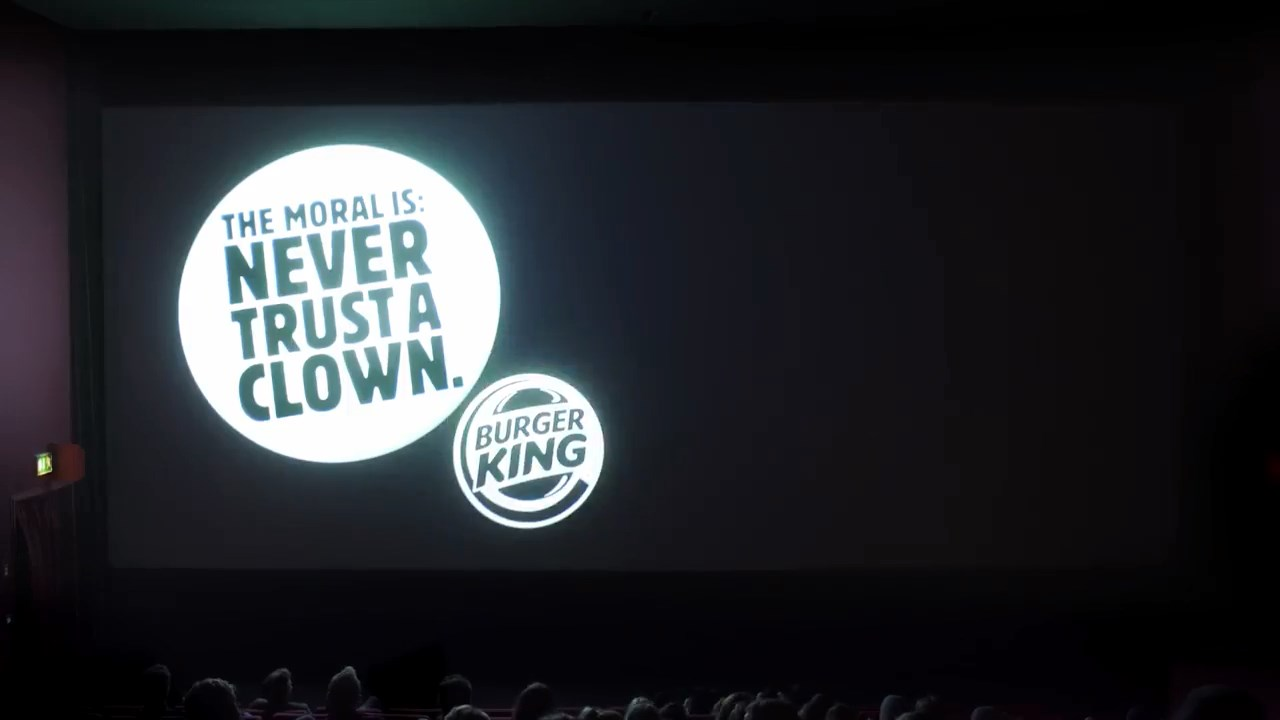 Burger King, Stephen King'in filmiyle McDonald's'ı trollerse