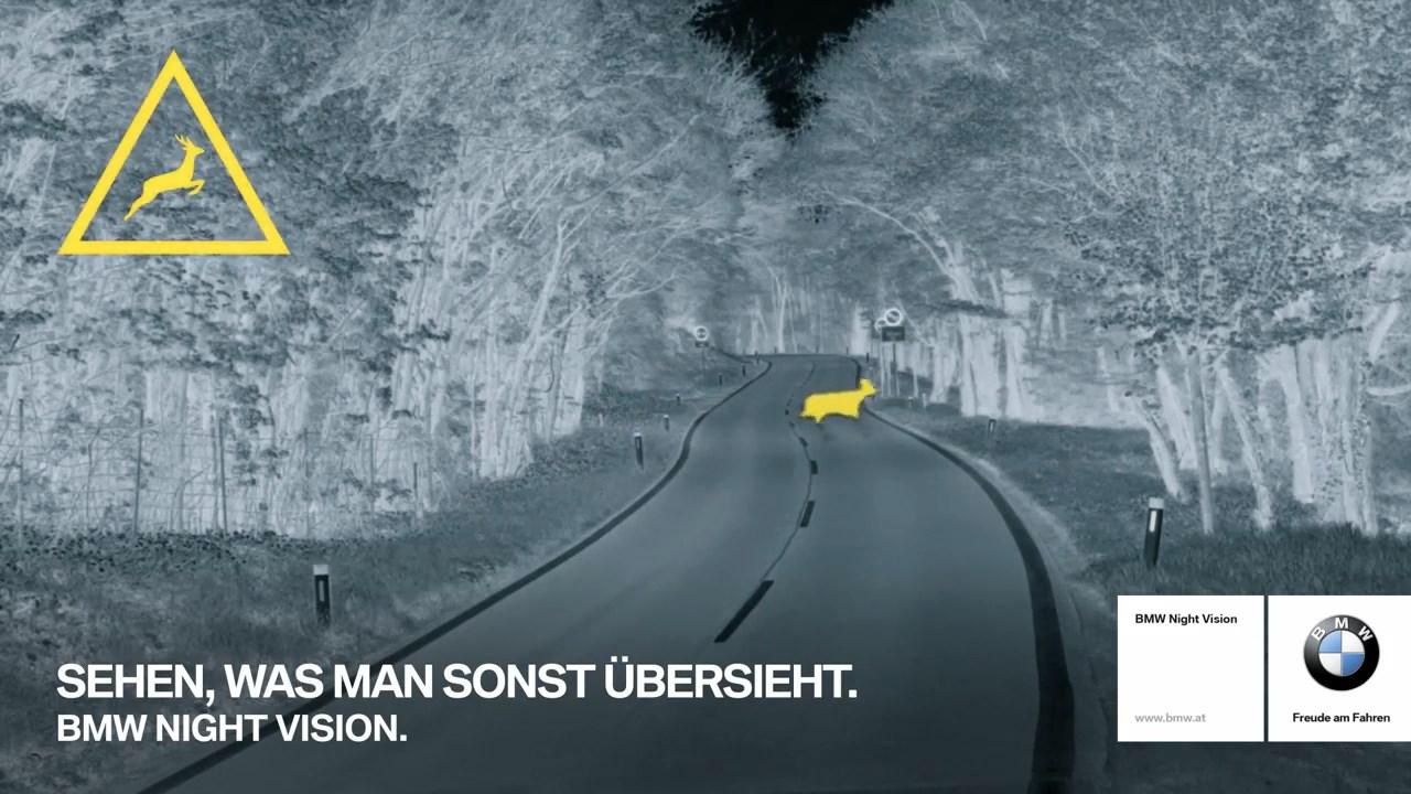 BMW geceleri fark edilmeyen hayvanları sürücüler için daha görünür hale getiriyor