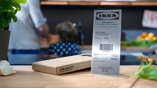 IKEA'dan 25 yıl garantili ürünleri için kağıt yerine çelik fatura