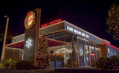 2020'nin bir an önce bitmesini isteyen Burger King, Temmuz ayında Noel'i kutluyor