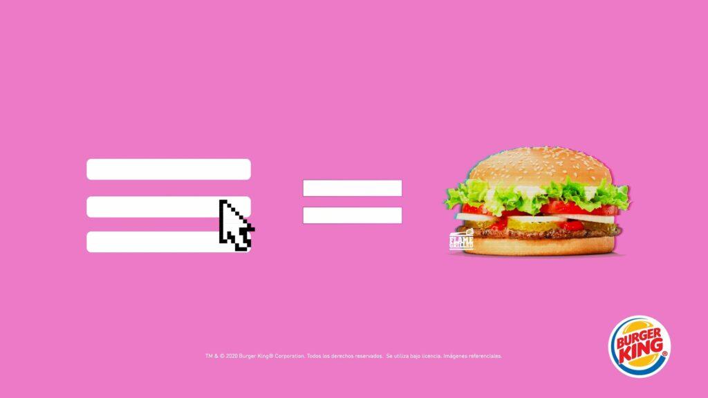 Hamburger ikonunu gerçek hamburgere dönüştüren Burger King kampanyası