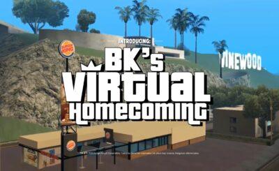 Burger King'in GTA San Andreas oyunundaki sanal restoranı gerçek Whopper kazandırıyor
