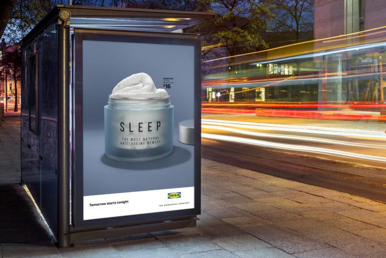 ikea yatak takımı reklam1