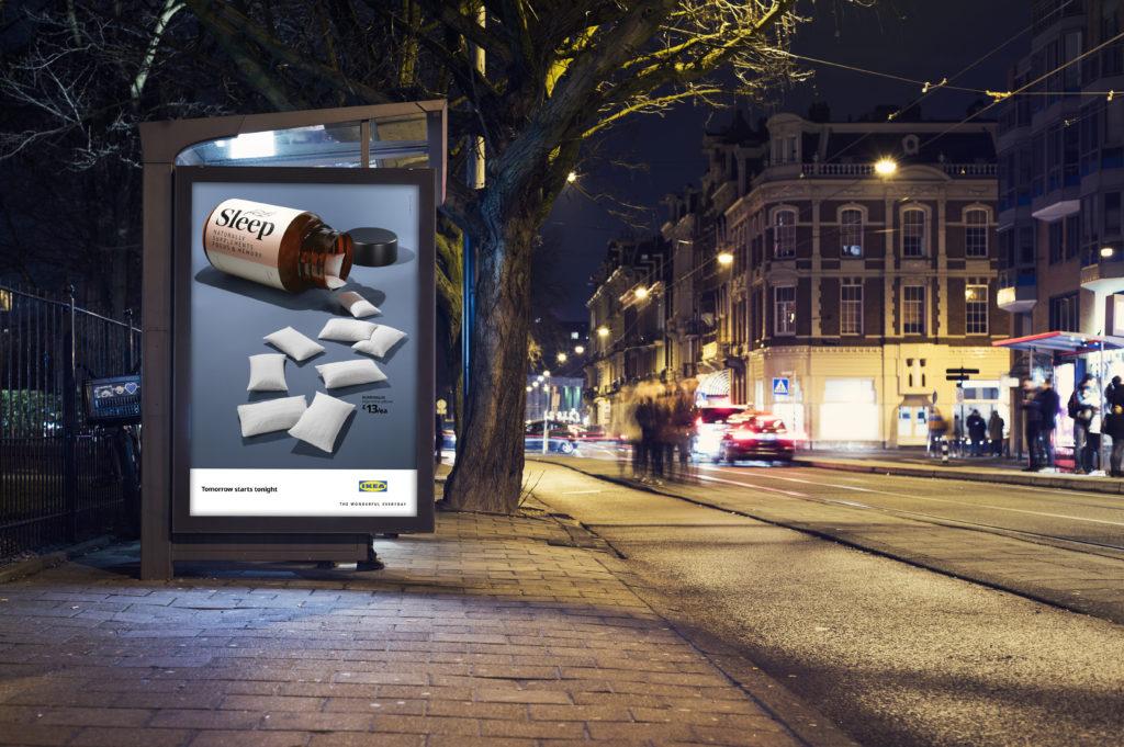 ikea yatak takımı reklam2